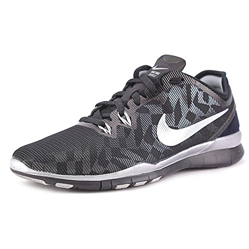 Nike Metallic Black Trainers Women's Silver rwxrPqd5n