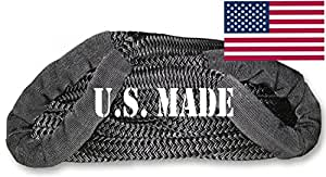 BILLET4X4 (Full-size truck) U.S. made 1-1/8 inch X 30 ft KINETIC Snatch Rope- MILITARY-GRADE - BLACK