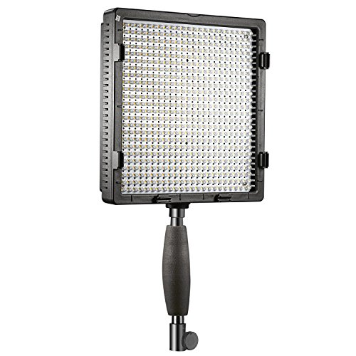 neewer cn576 576pcs led dimmable ultra high power panel digital camera camcorder video light with 3 filters led light 3200k to 5600k for canon nikon