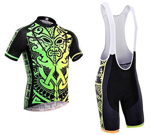 Dianno NonStop club 3.0'' Breathable Cycling Short Sleeve Jersey And Bib Short .Set clothing. 18 Styles for choose. (BT315, x-Large) by Dianno
