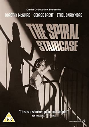 The Spiral Staircase [DVD] [1945] [Reino Unido]: Amazon.es: Dorothy McGuire, George Brent, Ethel Barrymore, Gordon Oliver, Robert Siodmak, Dorothy McGuire, George Brent: Cine y Series TV