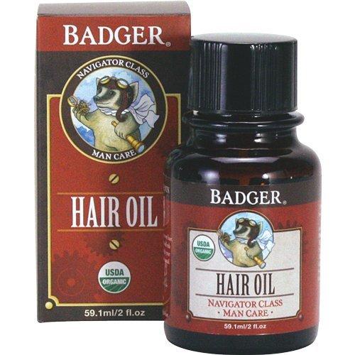 Badger Men's Hair Oil - 2oz ()