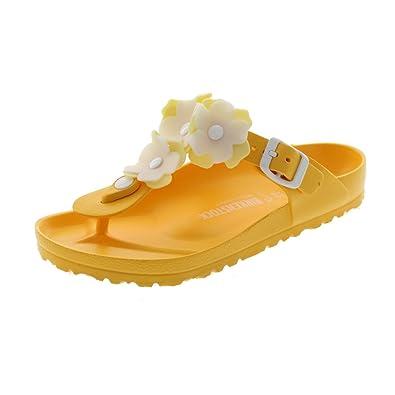 Birkenstock Chaussures - Gizeh Eva Flower - 1011905 - Neon Pink, Taille:EUR 39