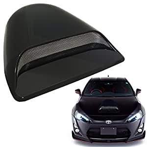 Universal Decorative Paintable Hood Scoop Smoke Black Sport Racing Air Flow Intake Vent Cover Nismo Style Auto US Seller