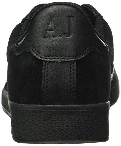 Armani Jeans935565CC501 - Sneakers Basse Uomo Nero (Nero 00020)