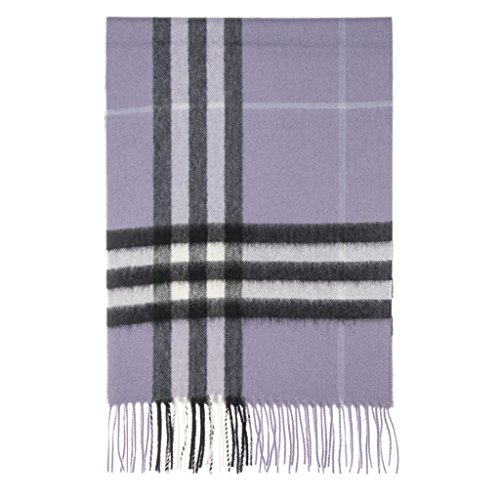 Burberry Women's Classic Check Scarf Lilac by BURBERRY