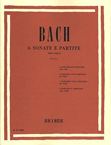 Bach: 6 Sonatas and Partitas (transc. for viola)