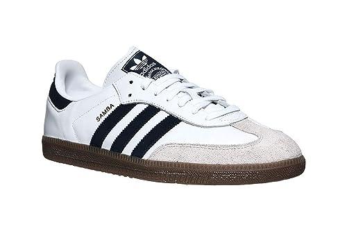 2795a79ac adidas Samba OG Shoes FTWR White/Navy: Amazon.co.uk: Shoes & Bags