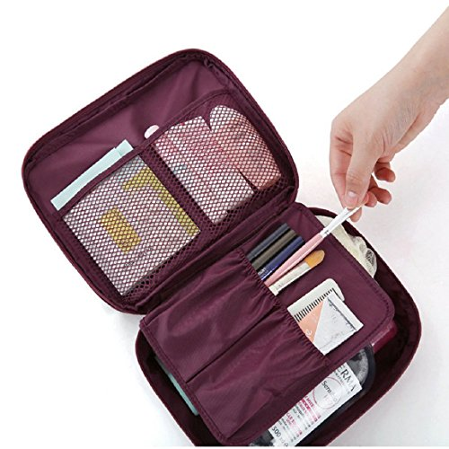 cosmetic-makeup-bag-toiletry-travel-kit-organizer-new-2015-flower-in-wine-red