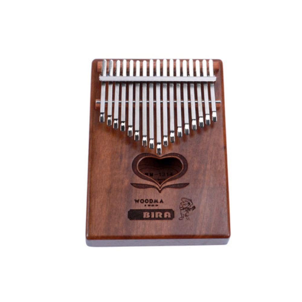 Youshangshipin Kalimba, Retro Design Kalimba Thumb Piano, 17-tone Simple And Easy To Learn Portable Instruments, (style 1, Gifts; Cotton Bag + Tuning Hammer + Polishing Piano + Finger Sets + Sound Sti
