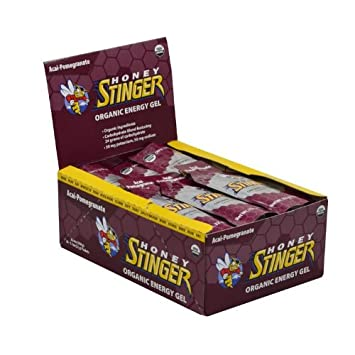 Honey Stinger Organic Energy Gels – 24-Pack Acai, One Size