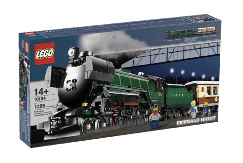 Amazon.com: LEGO Creator Emerald Night Train (10194): Toys & Games