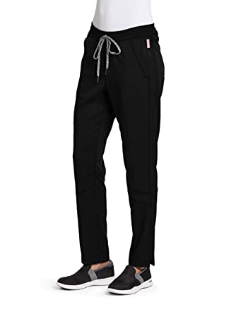 ee587bad5d0 Grey's Anatomy Active GVSP509 Cargo Scrub Pant - Spandex Stretch Black XXS  Tall