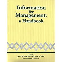 Information for Management: A Handbook