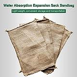 Water-Absorbing Expansion Bag Water-Absorbing Bag Flood-Proof Flood-Proof Fast Sandbag Durable Waterproof Water Supply Station Residential Area