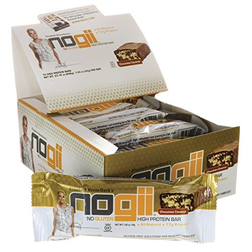 NoGii High Protein Nutritional Bar, Chocolate Coconut, 1.93 Ounce Bars, 12 Count Review