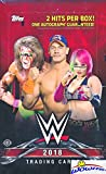 #4: 2018 Topps WWE Wrestling MASSIVE Factory Sealed HOBBY Box with (2) HITS Including AUTOGRAPH Card! Look for Cards & Autographs of WWE Superstars The Undertaker, Triple H, Jon Cena, More! WOWZZER!