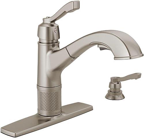 Delta Allentown Pull-Out Kitchen Faucet