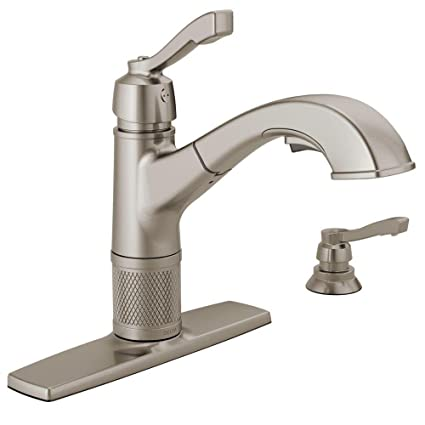 kitchen faucets out delta extendn faucet tif ar products details pull