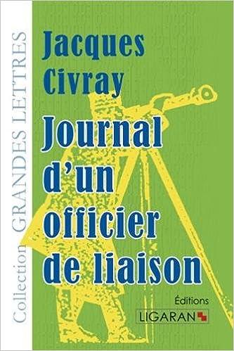 Livre Journal d'un officier de liaison pdf