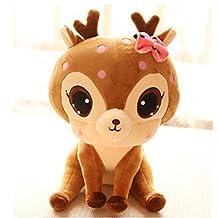 25cm Plush Deer Toys Dolls stuffed animal toy birthday gift for children Kids Baby
