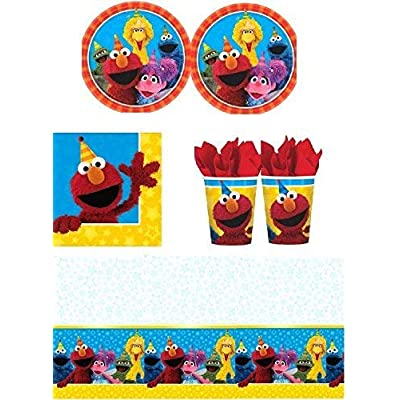 Sesame Street - Party Pack for 16 Guests: Toys & Games