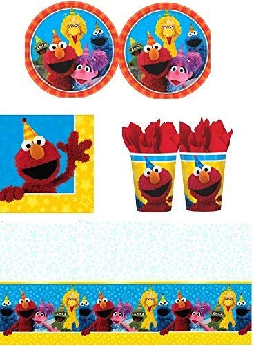Sesame Street Party Plates (Sesame Street - Party Pack for 16)