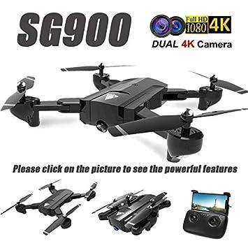 Yiwa SG900 Drone Dual Camera HD 720P Profesión FPV WiFi RC Drone ...