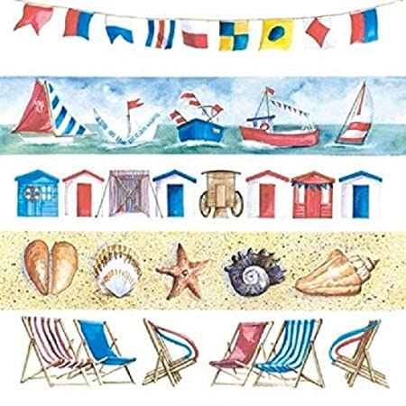 4x Paper Napkins for Decoupage Decopatch Craft Lighthouse Sea