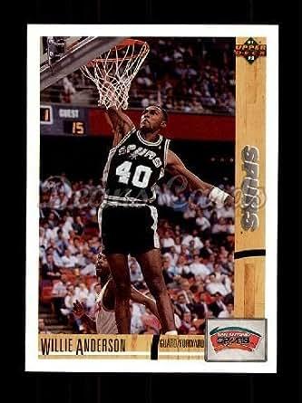 Amazon Com 1991 Upper Deck 282 Willie Anderson San