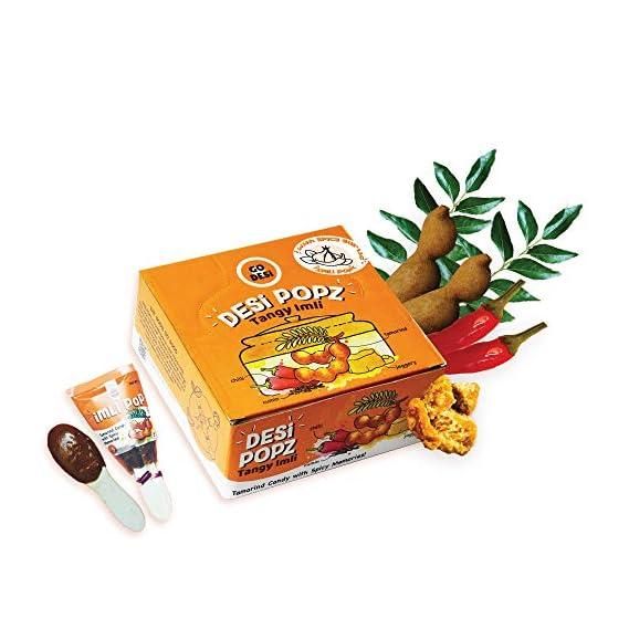 GO DESi Imli Pop with Garlic (50 Piece), 450 g