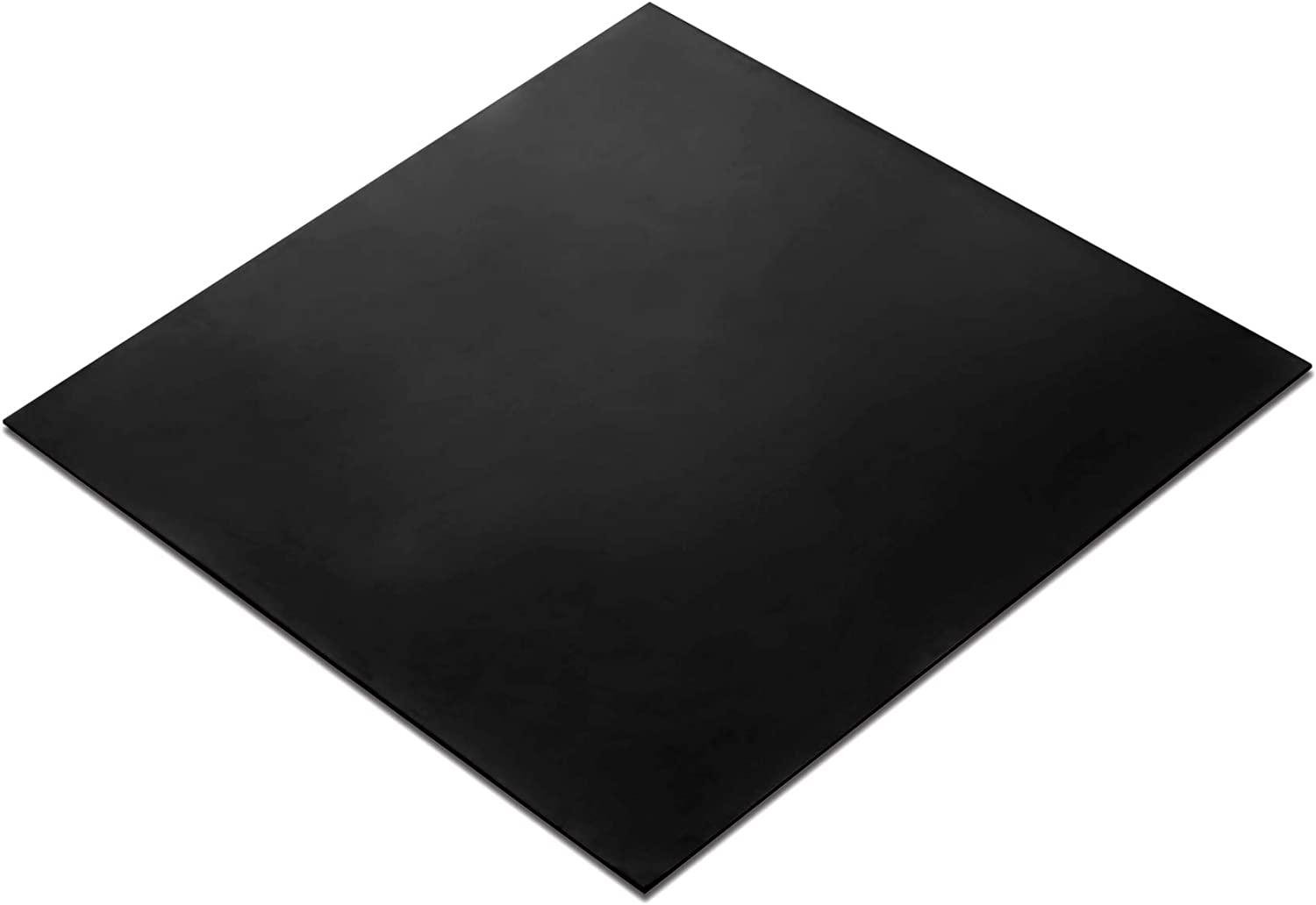 "Rubber Sheet, Heavy Duty, High Grade 60A, Neoprene Black, 12x12-Inch by 1/16"" (+/- 5%) for Plumbing, Gaskets DIY Material, Supports, Leveling, Sealing, Bumpers, Protection, Abrasion, Flooring"