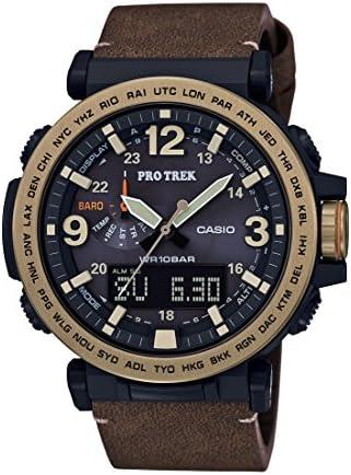 Casio 2018 PRG600YL-5 Watch PROTREK Triple Sensor
