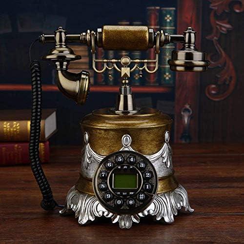 BZM-ZM 20x25x26cm(8x10x10インチ) - ヴィンテージクリエイティブ電話ホームレトロなホームデコレーションのための強固な発信者IDを修正しました