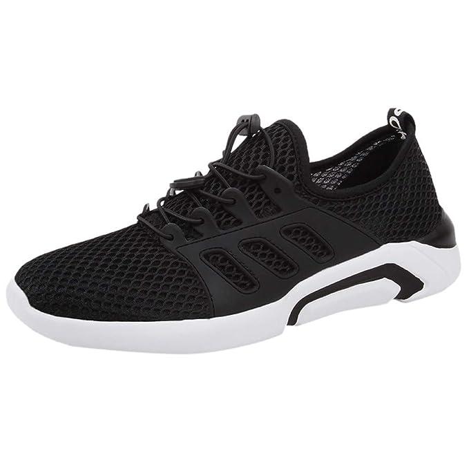 LANSKIRT_Zapatos Zapatillas Running Hombre Deportivos de Hombre ...