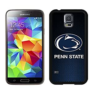 Ncaa Big Ten Conference Football Penn State Nittany Lions(1) Black Samsung Galaxy S5 Screen Cover Case Newest and Fashion Design