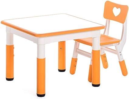 LIANGJUN Set tavolo e sedie Bambini Liscio Sicurezza