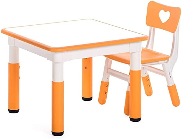LIANGJUN Table Et Chaises for Enfants Lisse Sécurité ...