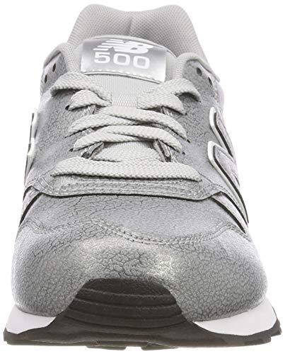 Silver Silver Damen Gw500 Mta Metallic Silber Balance Sneaker Metallic New nY8wqAvRn