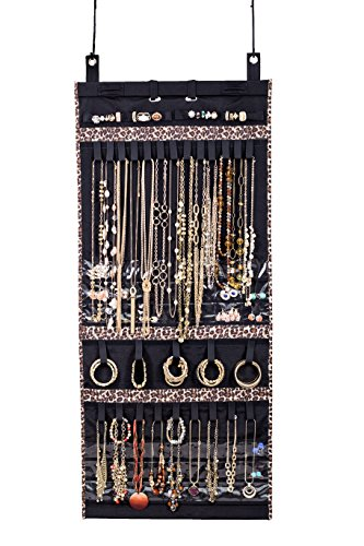 The Ultimate Jewelry Scroll - Hanging Storage Organizer - Holds Over 150 Pieces and Rolls Up For Travel - by Donna Walsh