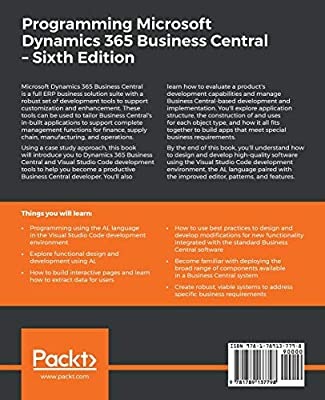 Programming Microsoft Dynamics 365 Business Central: Build