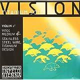 Thomastik-Infeld VIT01 Vision Titanium Solo Violin Single E String, 4/4 Size, Stainless Steel Wire Titanium