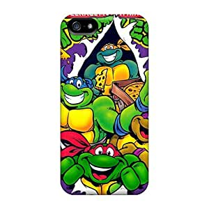 Perfect Hard Cell-phone Case For Apple Iphone 5/5s (NeK2207Yuuf) Allow Personal Design Fashion Ninja Turtles Pictures