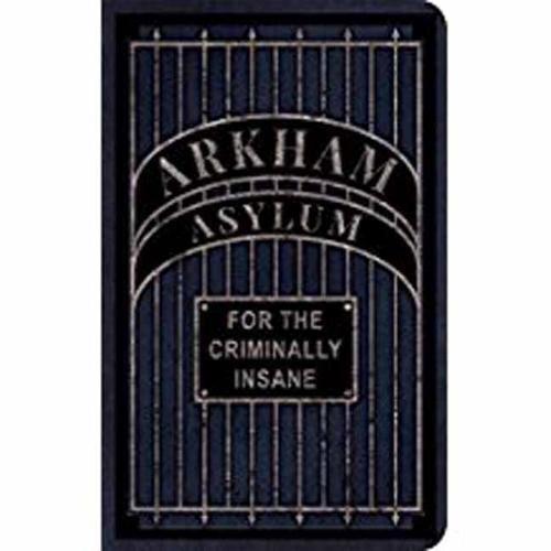 Arkham Asylum Comics - DC Comics: Arkham Asylum Desktop Stationery Set (With Pen)
