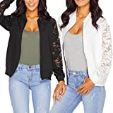 Product review for Sunward(TM) Womens Long Sleeve Lace Blazer Suit Casual Jacket