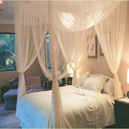 Mosquitera 4 esquinas cama romantica, cenador, chillout, jardin ...
