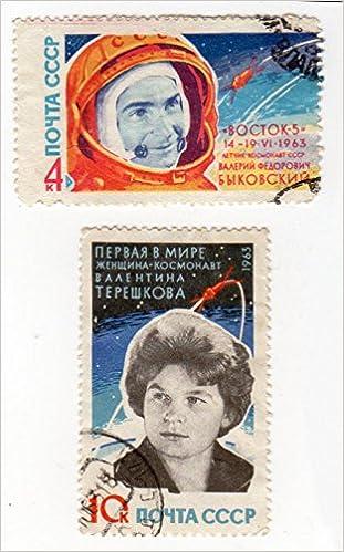 En ligne téléchargement gratuit Philatélie - URSS - 1963 - The Second Group Space Flight - 4 K, Bykovsky and rocket/10 K, V. V. Tereshkova epub pdf