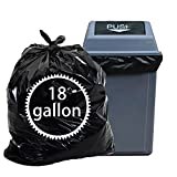 Nicesh 18 Gallon 90 Counts Trash Bags