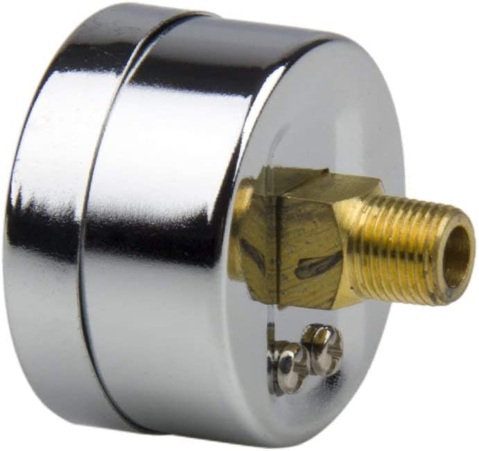 Indicador de nivel de combustible indicador de nivel 38mm 0-15 PSI 156101 para veh/ículos universales ATV SUV Motor diesel Medidor del regulador del motor Medidor de combustible