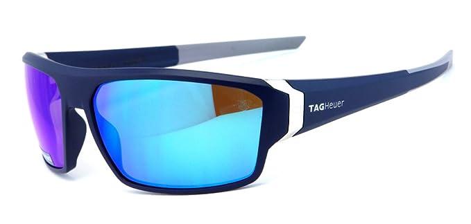 71c2e5cd5c9 TAG Heuer - Lunettes de soleil - Homme Bleu noir foncé M  Amazon.fr ...